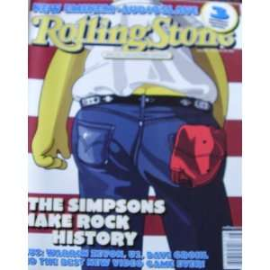 Rolling Stone Magazine November 28 2002 The Simpsons Make Rock History