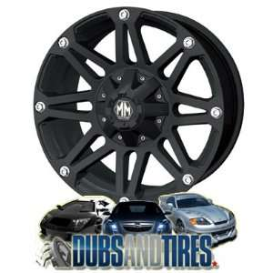 Mayhem Riot 8010 Matte Black Wheel (20x9/12x139.7mm