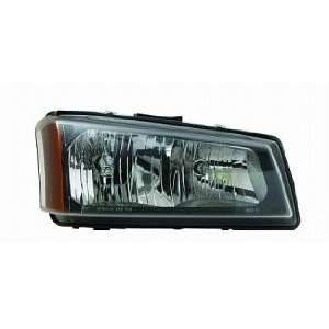 05 07 Chevrolet (Chevy) Silverado Pickup Headlight (Driver Side) (2005
