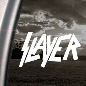 Slayer Heavy Metal Rock Decal Truck Window Sticker
