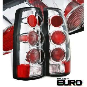 Cadillac 1999 2000 Escalade Suv Chrome Taillight Carbon Fiber Altezza