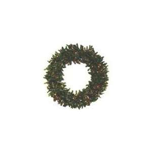 Commercial 8 Pre Lit Canadian Pine Artificial Christmas