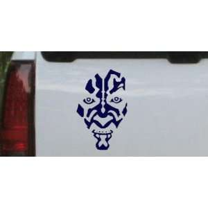 Navy 26in X 16.8in    Star Wars Darth Maul Car Window Wall