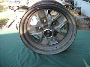 USED 78 87 OLDS CUTLASS 442 RALLY WHEEL & CENTER CAP 14X6