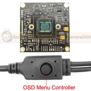 SONY Effio DSP SONY CCD Board Camera, 650TVL OSD, 8mm CS lens