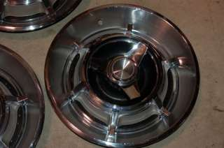1966 Dodge Charger 14 spinner type HUBCAPS Wheel covers  # 578