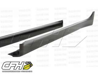 Seibon Carbon Fiber Oem style SIDE SKIRTS Fits Body Kit Mitsubishi