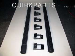 2011 2012 Jeep Grand Cherokee Black Side Steps 4 MOPAR