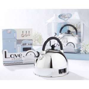 Love is Brewing Teapot Timer in Classic Retro Gift Box   Baby Shower