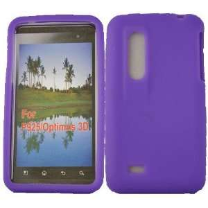 Mobile Palace Purple Silicone skin case cover pouch for