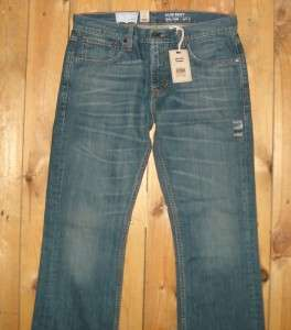 Levis $80 Mens 507 Slim Boot Cut Rare Jeans #0022
