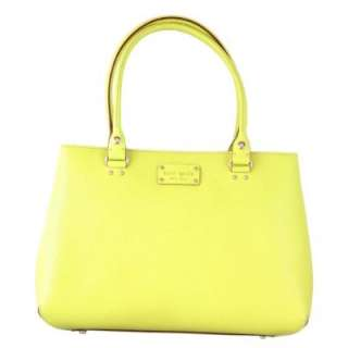 Kate Spade Elena Wellesley Handbag Citronella