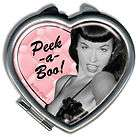 BETTIE PAGE MINI METAL TIN SIGN MAGNET RETRO PINUP GIFT