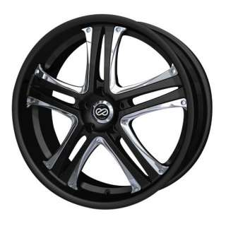 ENKEI AKP BLACK RIMS WHEELS SAAB 9 3 TURBO 9 4 9 5 PONTIAC G6
