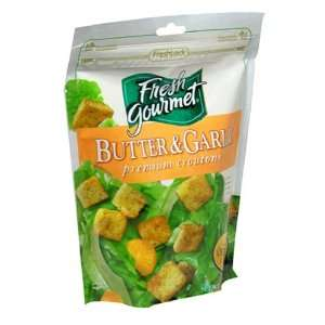 Fresh Gourmet, Butter Garlic Croutons, 5 oz  Fresh