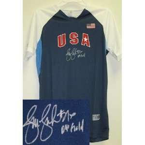 Jennie Finch Usa Team Autographed/Hand Signed Jersey