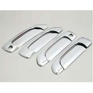 Chrome Side Door Handle Cover Trims for 01 05 Honda Civic 01 08 Honda