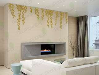 Tree Branches Removable Vinyl Wall Decor Decal Stickers