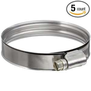 Murray DB Series Stainless Steel Worm Gear Hose Clamp, 1.94 Min Clamp