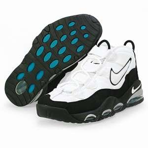 NEW MENS NIKE AIR MAX TEMPO BASKETBALL SHOE 311090 100 WHITE/BLACK