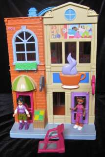 Fisher Price Sweet Street Shopping Mall People Set Lot