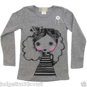 Misha Lulu Girls Boutique Girl Next Door Cotton Shirt