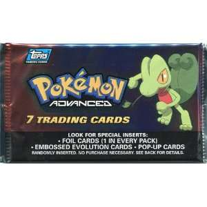 Topps Pokemon Advanced Trading Card Pack Toys & Games