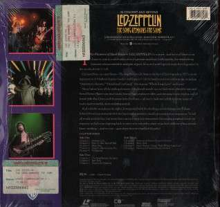 Led Zeppelin In Concert & Beyond USA LD w/Shrink LD021