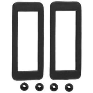 New Ford Mustang Side Marker Bezels   Rear, 2pc Set 71 72