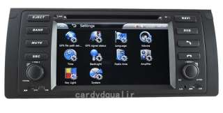 New Car DVD Player GPS Navigation 7 HD touchcreen iPod For BMW 5 E39