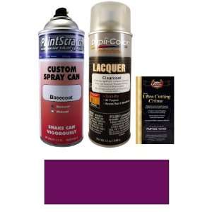 12.5 Oz. Dark Red Purple Metallic Spray Can Paint Kit for