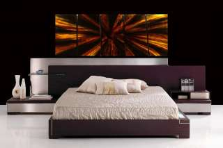 ABSTRACT WALL ART METAL PAINTING DECOR SCULPTURE MODERN