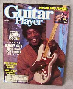 GUITAR PLAYER MAGAZINE   APRIL 1990 (BUDDY GUY)