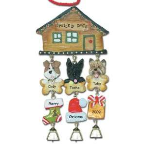 Scottish Terrier Dog Christmas Ornament