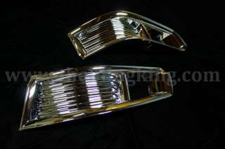 2010 Cadillac CTS chrome fog light cover bezels trim 07 08 09