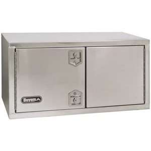 Buyers 36 In. Aluminum Truck Box w/Double Door Office