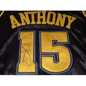 CARMELO ANTHONY SIGNED AUTOGRAPHED JERSEY DENVER NUGGETS