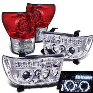 Eautolight 2007 2011 Toyota Tundra Twin Halo LED Projector