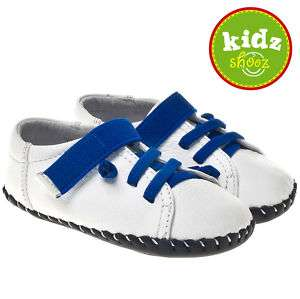 Boys Infant Toddler Leather Soft Sole Baby Shoes White