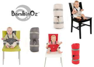 Baby Travel Easy Fits Most Chairs Choose Red, Slate, Stone