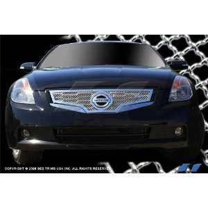 Nissan Altima Coupe 2008 10 (Top Only) SES Stainless Steel Chrome Mesh