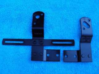 1947 1950 Chevy GMC Truck Light Brackets 1948 1949 BLK