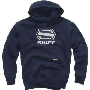 Shift Racing Core Hoody   Medium/Navy Automotive
