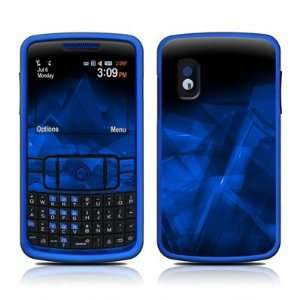 Dark Sapphire Crystal Design Protective Skin Decal Sticker for Samsung