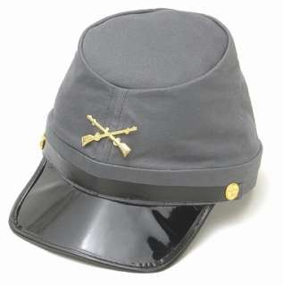 Confederate Foot Soldier Hat Civil War Costume Hat