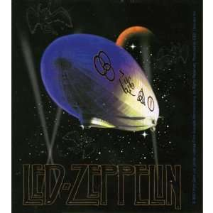 Led Zeppelin   Purple Blimp Decal Automotive