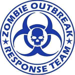 Zombie Outbreak Response Team NEW DESIGN Die Cut Vinyl Decal Sticker 5