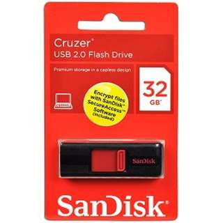 NEW SanDisk 32GB Cruzer Micro USB Flash Pen Drive SDCZ36 032G Retail