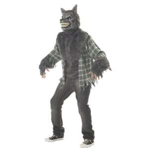 Adult Full Moon Madness Wolf Costume Size Large (42 44