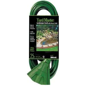 Woods 984413 25 Foot Outdoor Extension Cord with Power